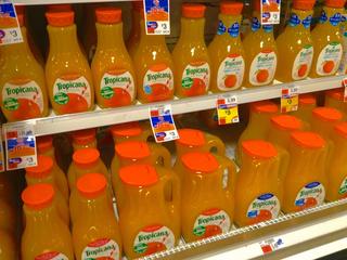Tropicana makes a big change to orange juice jug