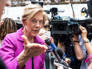Warren says she'll think about presidential run