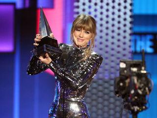 Watch: Candidate touts Taylor Swift endorsement