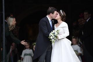 Princess Eugenie marries in royal wedding