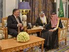 After Saudi visit, Pompeo talks up alliance