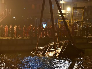Bus fell off bridge after woman attacked driver
