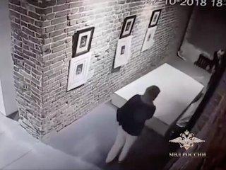 Selfie attempt damages Dali, Goya artworks